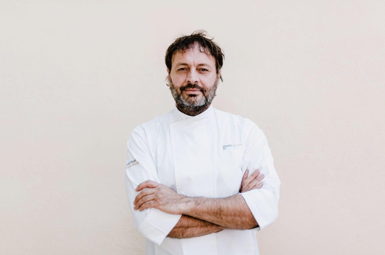 Che Ugo Alciati nel suo ristorante Guidoristorante